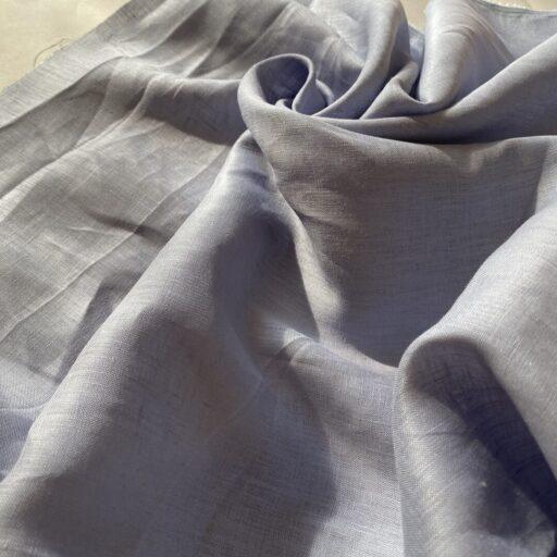 Льняная Ткань 120 гм сорочечная linen fabrics