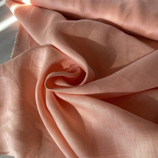 Льняная Ткань 120 gsm сорочечная linen fabrics