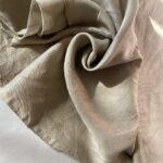 Льняная Ткань для рубашки 120 gsm linen fabrics