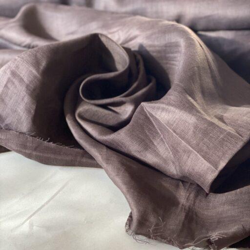 Льняная Ткань купить поставщик тканей Французский лен итальянский для рубашки Льняная Ткань для рубашки коричневая 120 gsm linen fabrics