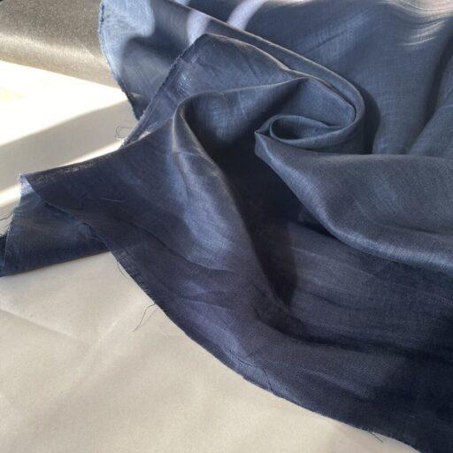 Льняная Ткань купить поставщик тканей Французский лен итальянский для рубашки Льняная Ткань для рубашки синяя 120 gsm linen fabrics