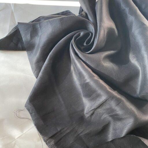 Льняная Ткань купить поставщик тканей Французский лен итальянский для рубашки Льняная Ткань для рубашки чёрный 120 gsm linen fabrics