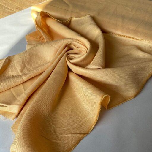 купить тонкий твил золотистого цвета золотистый цвет