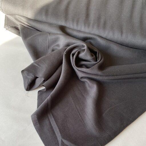 купить твил черного цвета ткань для детской одежды
