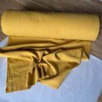 Ткань из крапивы ramie желтая