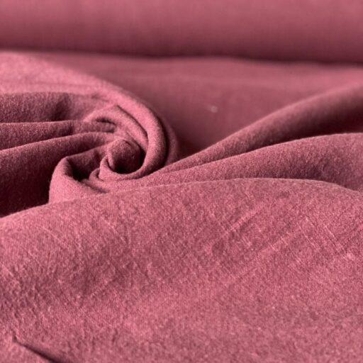 Ткань из крапивы ramie красная