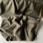 Купить ткань конопляная широкая hemp fabrics зелёный