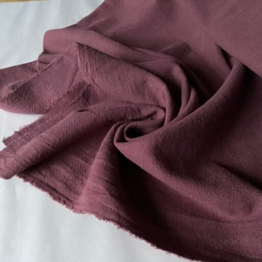 Ткань у из крапивы ramie цвет Слива