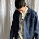Джинсовая куртка из конопли hemp