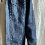 Джинсовая куртка из конопли