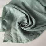 Эко-ткань из крапивы Батист зелёный nettle