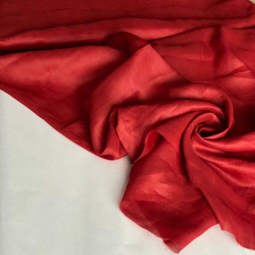 Эко-ткань из крапивы Батист красный nettle