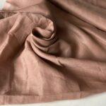 Эко-ткань из крапивы Батист Пудровый nettle