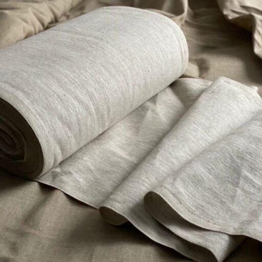 Льняная Ткань купить домоткань linen fabrics Russia Фото товара Льняная домоткань