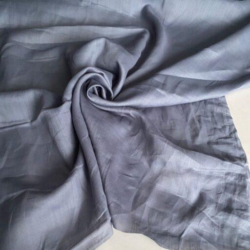 ткань из крапивы купить Батист серый nettle fabrics