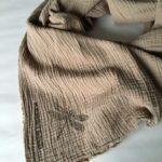Платок из муслина купить ткани