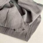 Льняная ткань купить креп-жатка Ткань Лен Хлопок