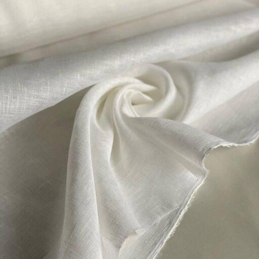 Льняная ткань вуаль Лен Лен 100% Декоративная ткань Ткань