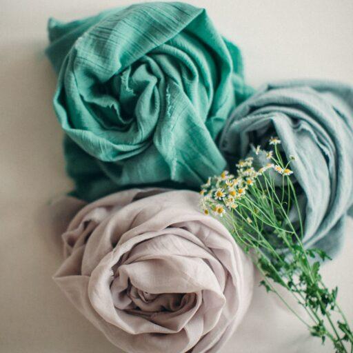 платок из крапивы в подарок