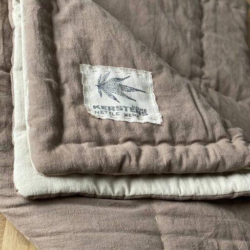 Покрывало/Одеяло с конопляным наполнителем Ткань Одеяло Покрывало Конопля Волокно Крапива