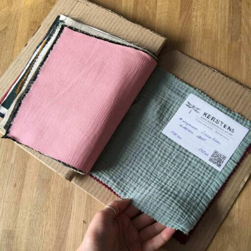 Альбом с образцами льняных тканей LINEN