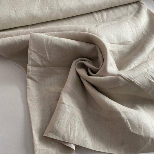 Льняная костюмная ткань премиум Лен Ткань Льняная ткань Лен 100%