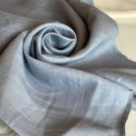 лен серо-голубого цвета