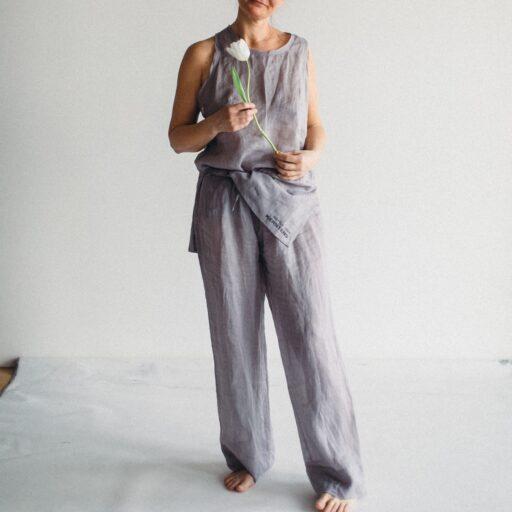 брюки из батиста легкие штаны