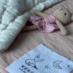 детское одеяло из натуральных тканей