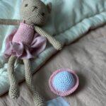 детское одеяло из конопли вязанная игрушка