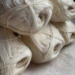 Пряжа для вязания цвет айвори