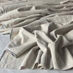 ткань из крапивы цвет натуральный