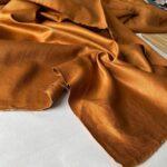 ткань цвета шафран