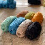 пряжа из крапивы для вязания спицами