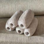 пряжа для вязания цвет серый