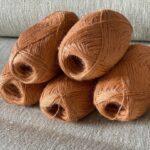 пряжа для ручного вязания из крапивы