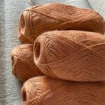 пряжа для вязания цвет терракота