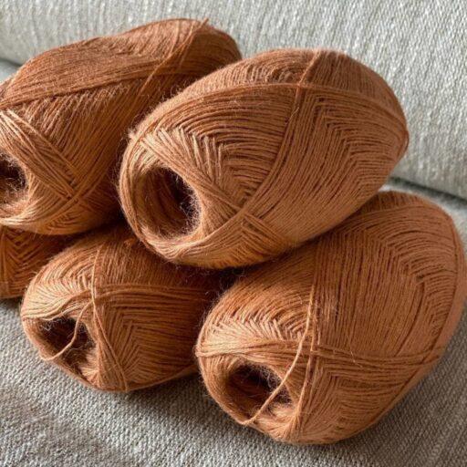 пряжа для вязания цвет коричневый