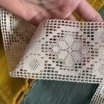 льняное кружево для шитья