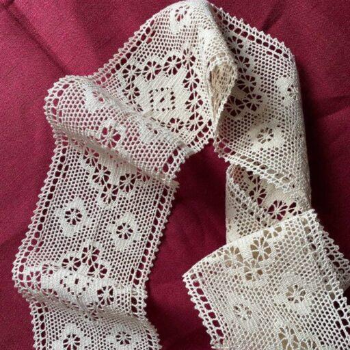 вязаное кружево для одежды