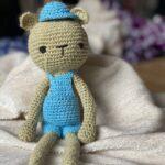 knitted bear teddy