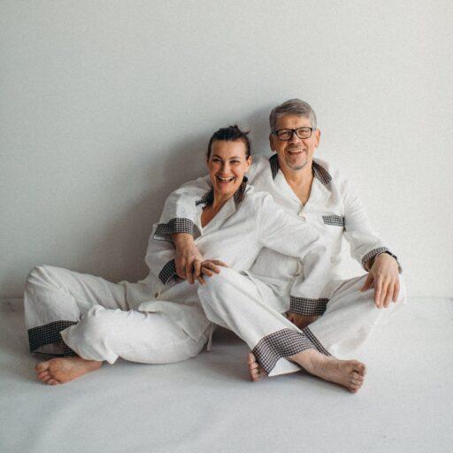 льняная пижама