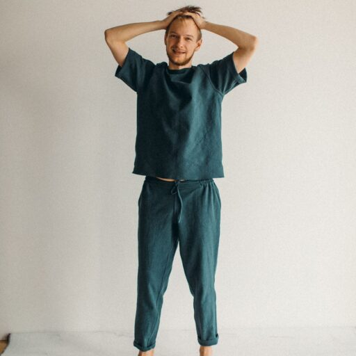 мужские костюмы из льна