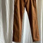 штаны из вельвета
