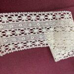 вязаное винтажное кружево