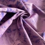 ткань розово-синяя