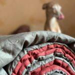 конопляное одеяло стеганое