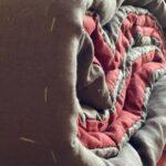 стеганое конопляное одеяло
