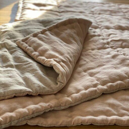 одеяло байковое детское из конопли
