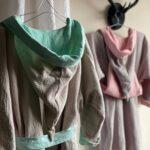 женский халат из муслина